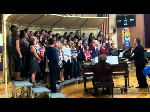Ladysmith Middle School 2013 Holiday Concert Combined Choirs