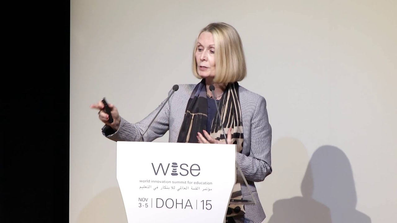 Ms. Valerie Hannon, WISE 2015 Keynotes - Fostering Innovation ...