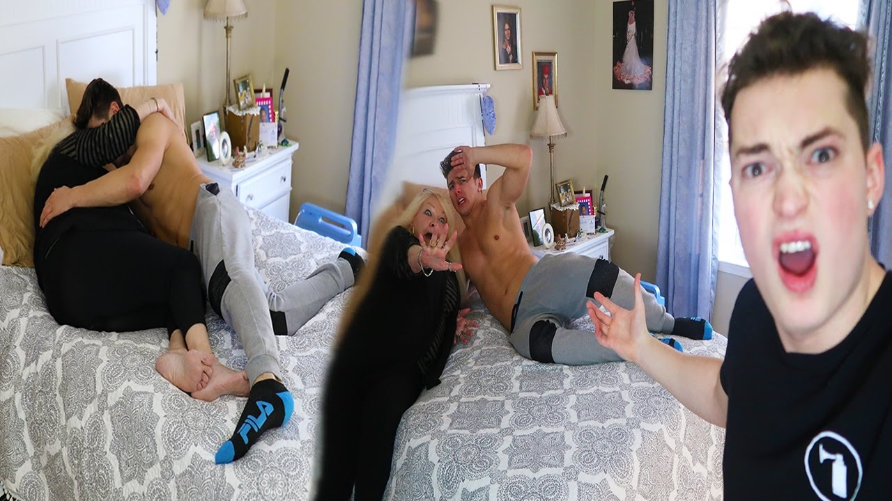 Caught My Grandmom Hooking Up With My Friend Caught On Camera
