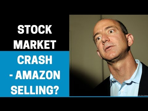 How will a stock market CRASH affect selling on AMAZON