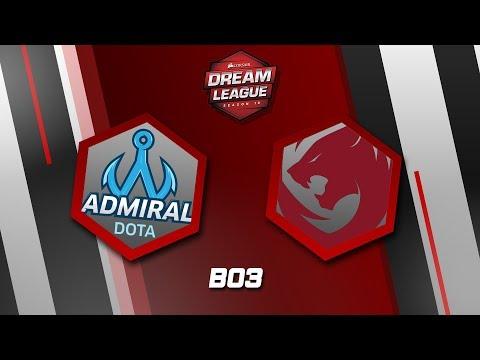 Tigers vs Team Admiral (BO3) - SEA QUALIFIER DREAM LEAGUE #10