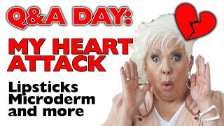 Q&A DAY / My Heart Attack! / Dermarollers / Best Microderm Devices / 50++ #beauty
