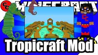 "Minecraft Mods: "" Tropicraft Mod 1.12.2 """