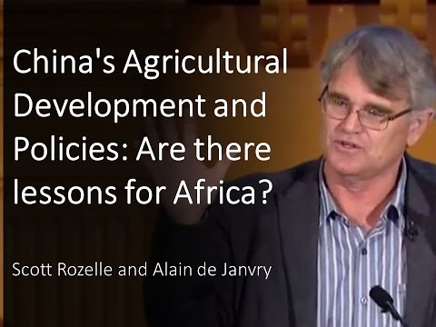 China's Agricultural Development and Policies: Are there lessons for Africa?