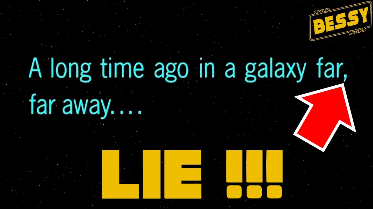 a long time ago in a A long time ago, in a galaxy far, far away each one of lucas' star wars films starts with these lines, distancing the story from our setting but, what if we could determine roughly how long ago is a long time ago.