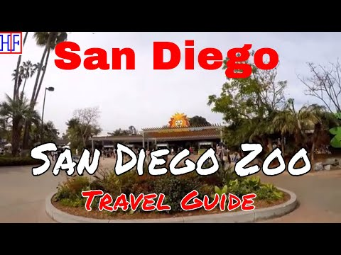 San Diego | San Diego Zoo| Tourist Attractions | Episode# 9