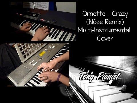 ᴴᴰ Ornette - Crazy (Nôze Remix) ¤ Multiinstrumental Cover