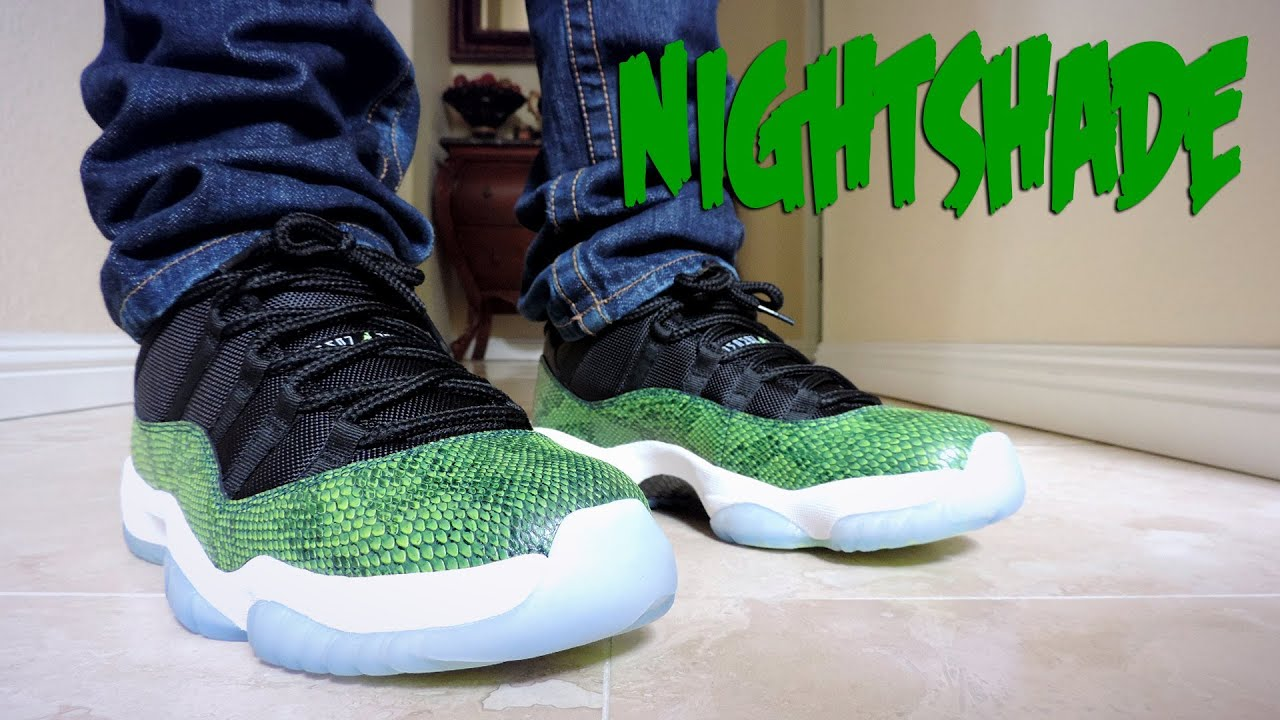 competitive price 7b784 8c436 On Feet  5   Air Jordan Retro 11 Low   NightShade   Flechette Music    Niclacoste   2014