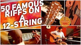 Download lagu 50 Famous Guitar Riffs On A 12-STRING