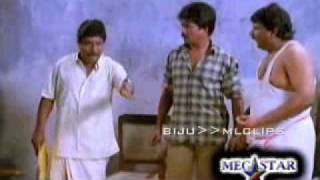 "Sreenivasan acting as a ""SIMHAM"""