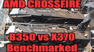 Does AMD's B350 Cripple Ryzen's CrossFire Performance?