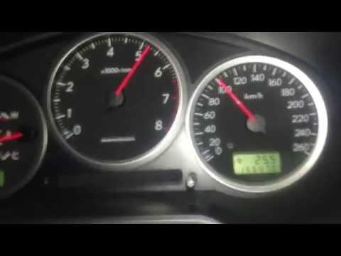 2006 Subaru Impreza WRX acceleration 0-60 0-100