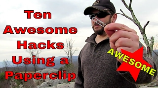 Ten Awesome Paperclip Hacks!