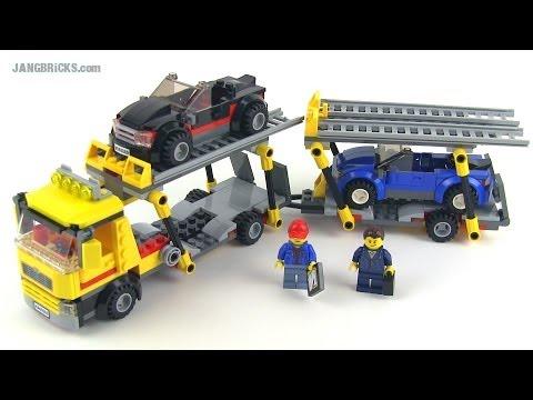 LEGO City 2014 Auto Transporter set 60060 review!