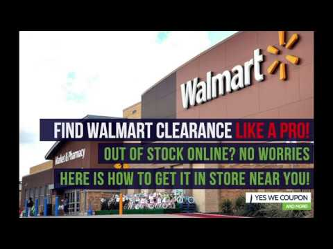 SECRET Walmart Clearance Hack! -Out Of Stock?  This Is How You Get It!!