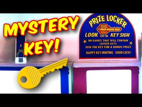 Mystery Key inside Arcade Games Can Win You This! ArcadeJackpotPro