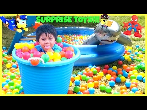 SURPRISE TOYS Giant Ball Pit Fun Challenge   Balls for Kids Children Toddler