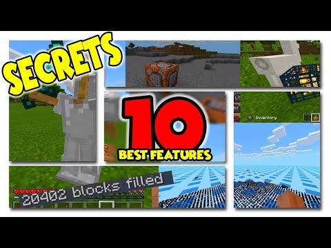 NEW SECRETS! COMMAND BLOCKS, WORLD EDIT & MORE on Minecraft XBOX : 10 BEST BETTER TOGETHER FEATURES