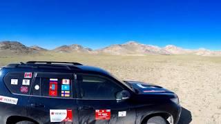 Gobi desert (West )  2019.09.04 Через Хребет к Пустыне Гоби. Mongolia. Toyota Prado.