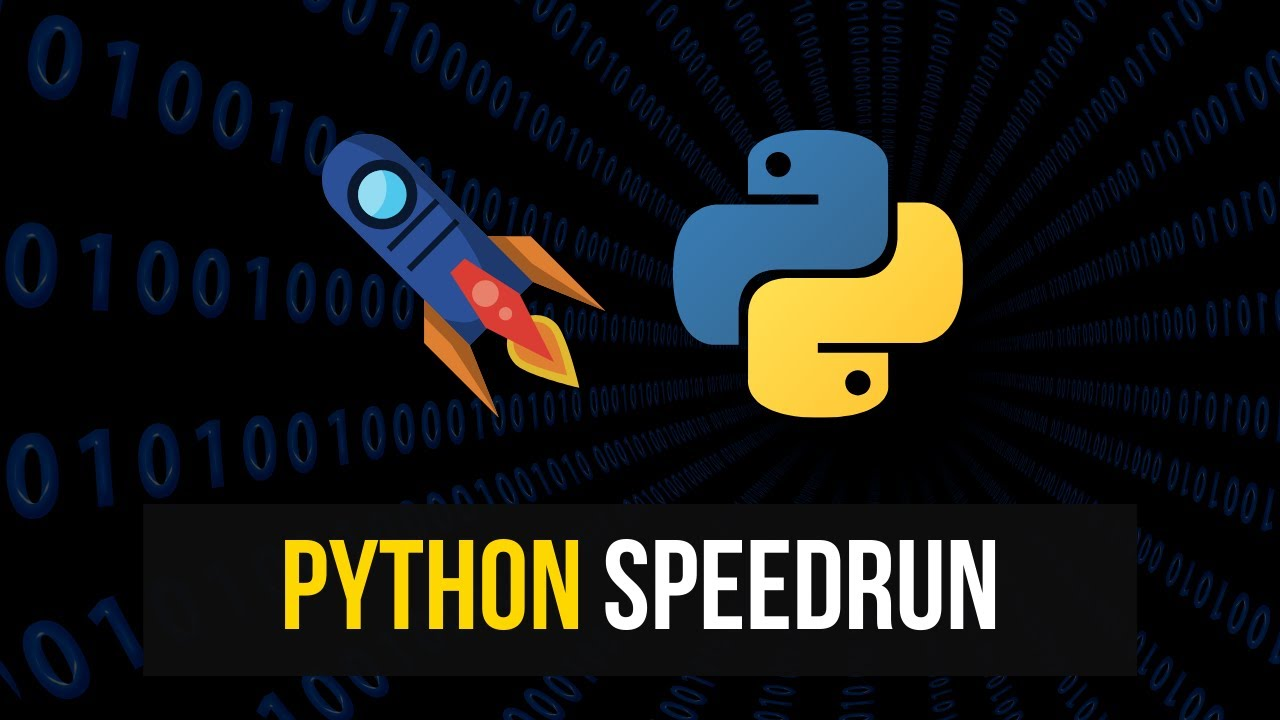 So You Want To Learn Python Fast