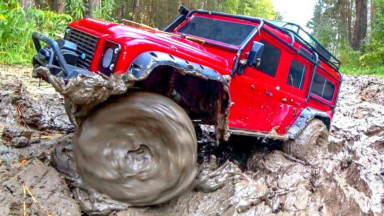 Radio Controlled Car 4x4 Stuck in MUD – Traxxas, HPI, RGT, MST, Axial  Wilimovich