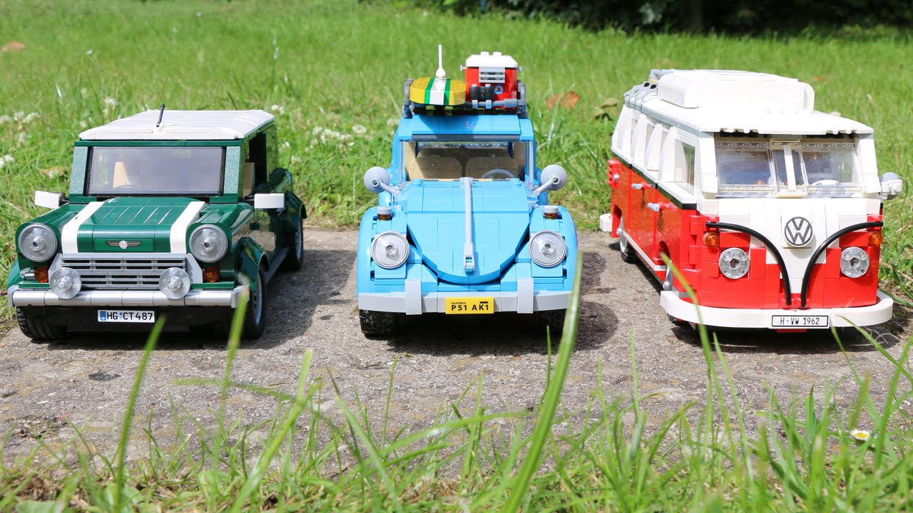 lego vw beetle 10252 t1 camper van mini cooper. Black Bedroom Furniture Sets. Home Design Ideas