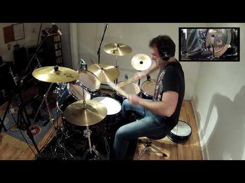 Led Zeppelin - Immigrant Song Drum Cover - Denis Richard Jr