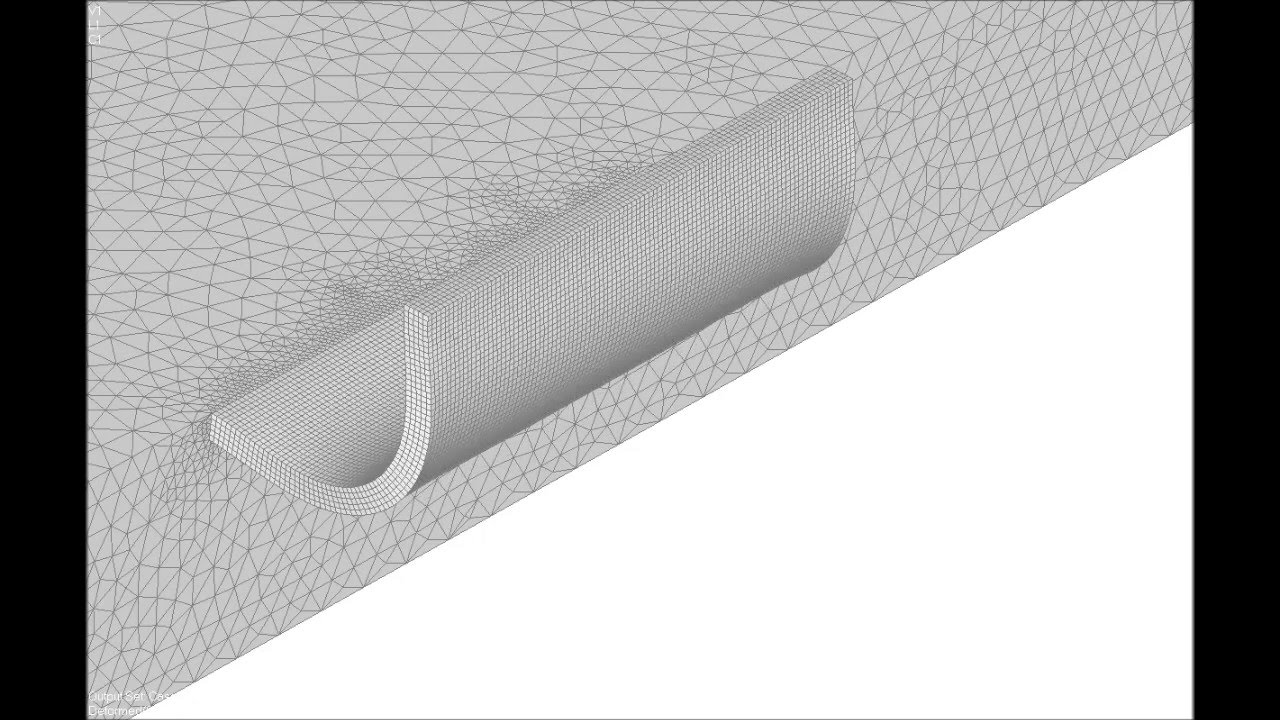 Flexible hinge design using NX NASTRAN