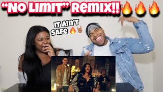 G-Eazy - No Limit REMIX ft. A$AP Rocky, Cardi B, French Montana, Juicy J, Belly | REACTION!!!!