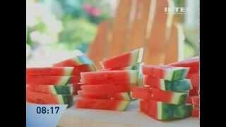 Лакомство из арбузных корок - рецепт Даши Малаховой - Интер