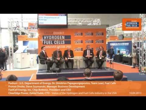 Podium Discussion: Status of the Hydrogen and Fuel Cells Industry in the USA