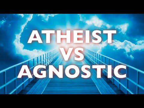 ATHEIST vs AGNOSTIC