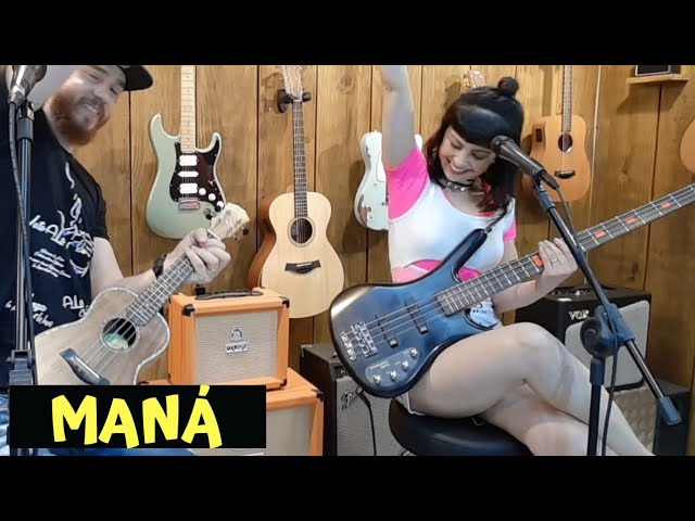 Maná - Vivir Sin Aire - Ukulele and Bass Remake Via: Overdriver Duo