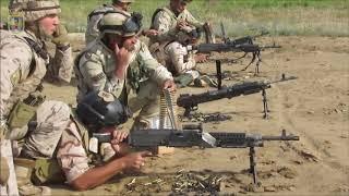 190526 Entrenamiento de militares iraquíes instruidos por el contingente español en Besmayah