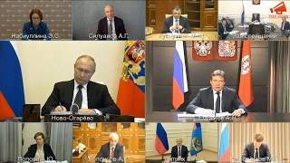 Президент НОСТРОЙ А Н  Глушков доложил Президенту РФ В В  Путину об инициативах по поддержке отрасли