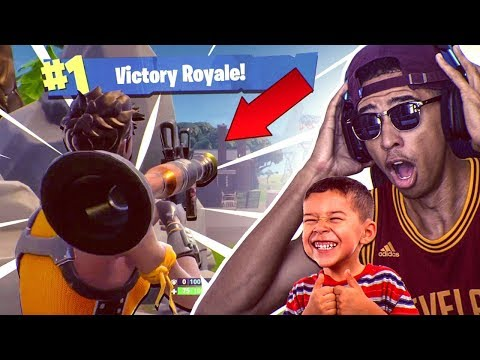 THE BEST FLANK VICTORY YOU'LL EVER SEE IN FORNITE! 8 Year Old WINS the Game! Fortnite Battle Royale
