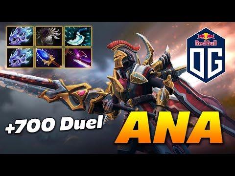 ANA Legion Commander +700 Duel Damage | Dota 2 Pro Gameplay thumbnail