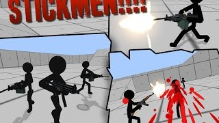 Stickman Gun Shooter 3D ▶️Best Android-iOS Games GamePlay 1080p(by TnTn )