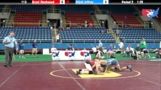 Fargo 2012 113 Round 6: Brent Fleetwood (Delaware) vs. Alijah Jeffrey (Iowa)