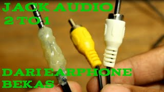 Download Video DIY Jack RCA to Aux Converter From Old Earphone MP3 3GP MP4