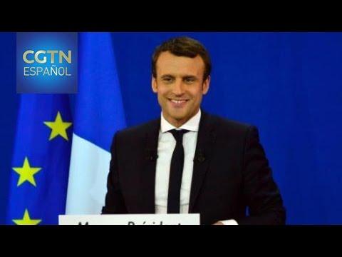 Juncker felicita a Macron en resultados de primera ronda