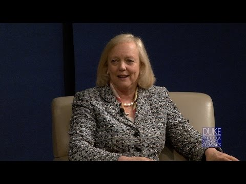 Distinguished Speaker Series: Meg Whitman - Chairman, President and CEO of HP