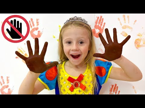Nastya and new rules of conduct for kids