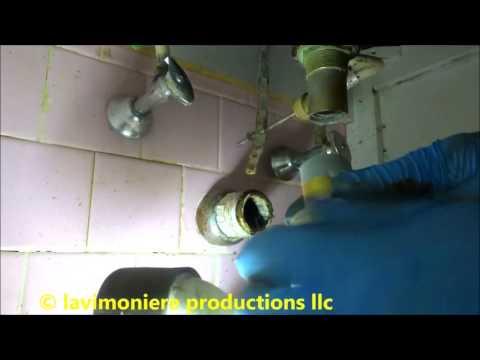 bathroom sink drain is backing up