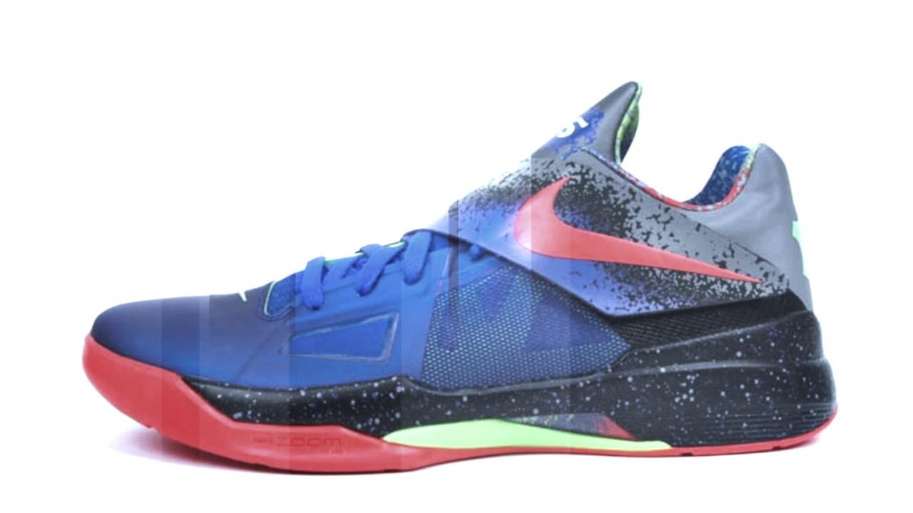 new concept 5f950 437b5 Nike KD 4 Nerf - YouTube