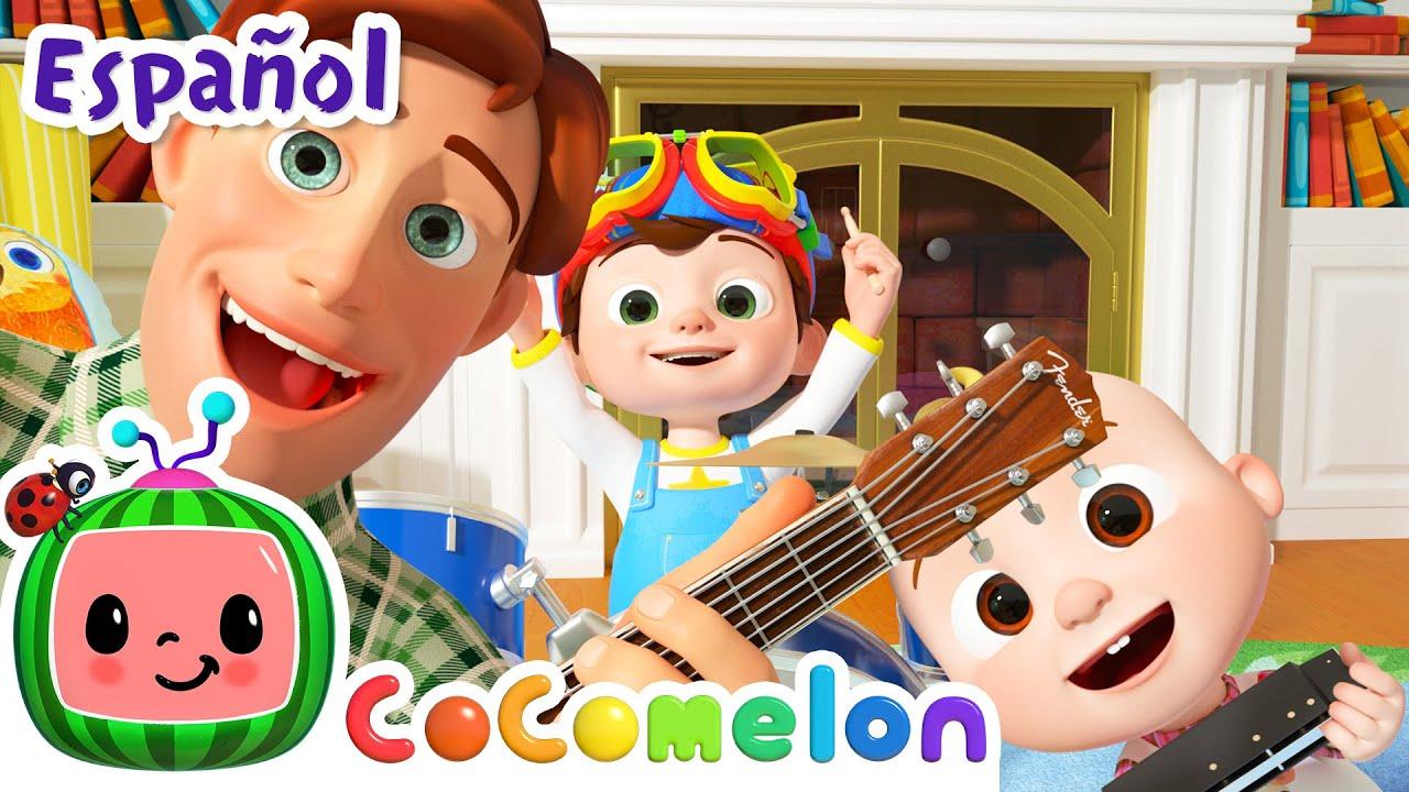 CoComelon en Español | Padre e hijos | Canciones Infantiles y de Cuna