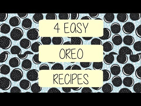 4 EASY OREO RECIPES | SIRIGANGA RB