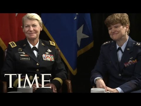 The First Female U.S. Four-Star Generals Talk To Time | TIME