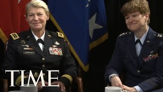 The First Female U.S. Four-Star Generals Talk to TIME