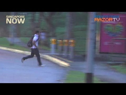 Danger spots along Yio Chu Kang Road